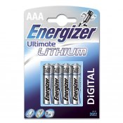 ENERGIZER Batteri AAA/LR03 Ultimate Lithium 4-pack
