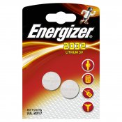 ENERGIZER Batteri CR2032 Lithium 2-pack