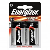 ENERGIZER Batteri D/LR20 Alkaline Power 2-pack