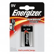 ENERGIZER Batteri 9V/6LR61 Alkaline Power 1-pack
