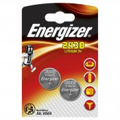 ENERGIZER Batteri CR2430 Lithium 2-pack