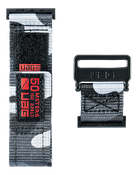 UAG Apple Watch 44mm/42mm, Active-rem, Midnight Camo