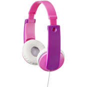 JVC Hörlur Barn KD7 On-Ear 85dB Rosa