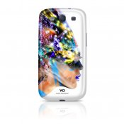 WHITE DIAMONDS Nafrotiti Vit Samsung S3 Skal