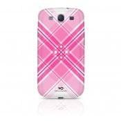 WHITE DIAMONDS Grid Rosa Samsung S3 Skal