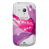 WHITE DIAMONDS Liquid Rosa Samsung S3 Mini Skal
