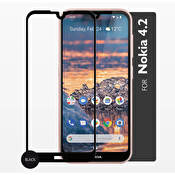 GEAR Härdat Glas 2,5D Full Cover Nokia 4.2