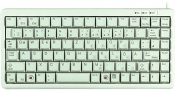 CHERRY Compact-keyboard, Nordisk layout, USB, 1,75m, grå/beige