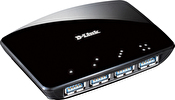 D-Link 4-Port Superspeed USB 3.0 HUB