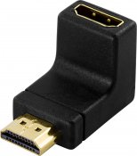 DeLOCK HDMI-adapter, 19-pin ha till ho, vinklad