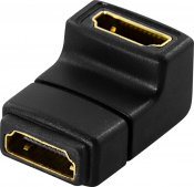 DeLOCK HDMI-adapter, 19-pin ho till ho, vinklad