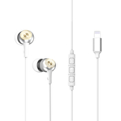 Baseus in-ear hörlurar med Lightningkontakt till iPhone 7/8/X