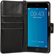 iDeal Wallet, plånboksfodral, konstläder, iPhone 6 Plus, halsrem, vi