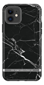 Richmond & Finch Black Marble, iPhone 11, silver details