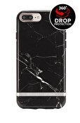 Richmond & Finch - Svart marmor med detaljer i silver till iPhone 6/7/8 Plus