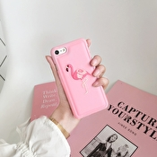 Fashioncase med rosa flamingo - iPhone 7 / 8