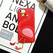 Fashioncase till iPhone 7 / 8 - Flamingo