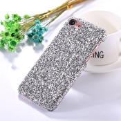 Fashioncase till iPhone 7 / 8 - Silver paljetter