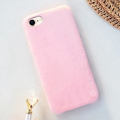 Fashioncase till iPhone 7 / 8 med plysh - Rosa