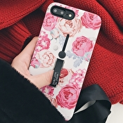 Fashioncase med fingerhållare - iPhone 7/8 Plus
