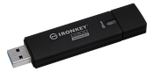 Kingston 8GB IronKey D300 Managed Encr USB 3.0 FIPS Level 3