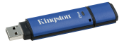 Kingston 8GB USB 3.0 DTVP30, 256bit AES Encrypted FIPS 197