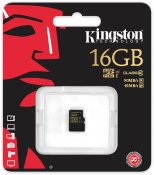 Kingston Minneskort 16GB microSDHC (Class 10)