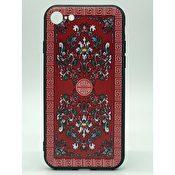 iPhone 6 6S skal med österländska mönster - Röd 0568c27f72f37