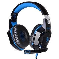 KOTION EACH G2000 Over-ear Gaminghörlurar LED Blå och Svart 8f255819837b8