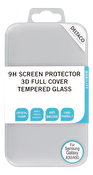 DELTACO screen protector, Galaxy A30/A50, 2.5D full coverage glass