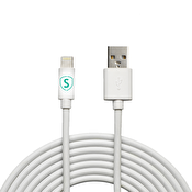 SiGN Lightning-kabel till iPhone / iPad, MFi-certifierad - 3 m