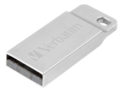 Verbatim Store 'n' Go Metal Executive Silver USB 2.0 Drive 16GB