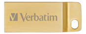 Verbatim Store 'n' Go Metal Executive Gold USB 3.0 Drive 64GB