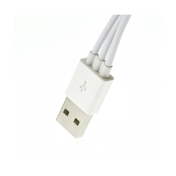 4 i 1 USB-kabel för iPhone/iPad/Samsung