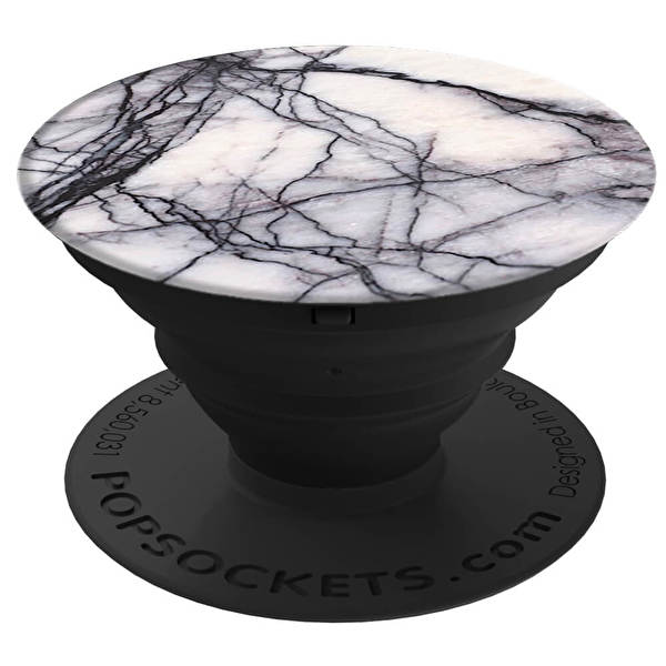 POPSOCKETS White Marble Smartphone Hållare