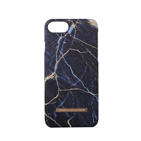 GEAR Mobilskal Onsala Collection Black Galaxy Marble iPhone6/7/8
