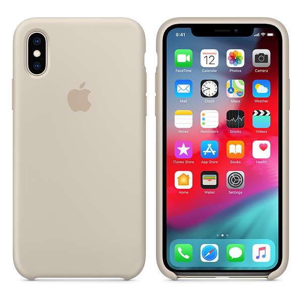 Apple iPhone XS/X silikonskal i Sten